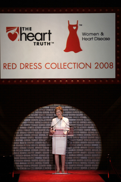 Mark Mainz「The Heart Truth's Red Dress Collection - Runway - Fall 08 MBFW」:写真・画像(17)[壁紙.com]