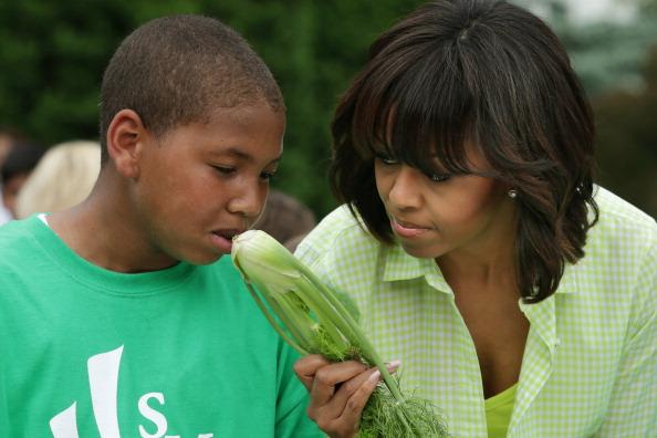 Fennel「Michelle Obama Hosts School Children To Harvest Crops From White House Garden」:写真・画像(11)[壁紙.com]