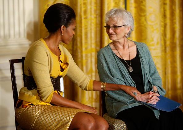 Social Security「Michelle Obama Speaks On Older Women And Health Insurance At White House」:写真・画像(16)[壁紙.com]