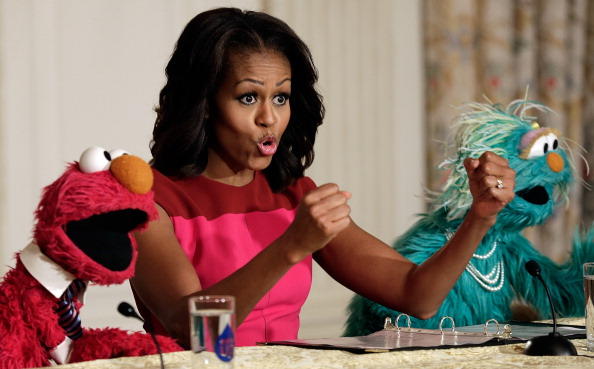 Healthy Eating「Michelle Obama Joins Sesame St Characters At White House Garden Fall Harvest」:写真・画像(18)[壁紙.com]