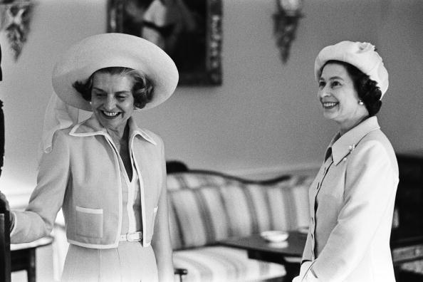 Betty Ford「Queen Elizabeth II Visits White House」:写真・画像(5)[壁紙.com]