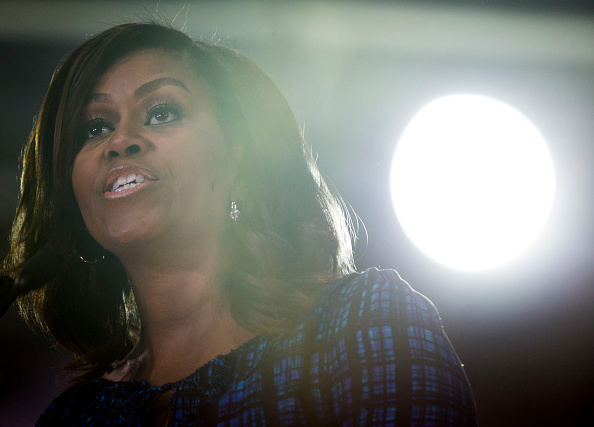 Philadelphia - Pennsylvania「Michelle Obama Campaigns For Hillary Clinton In Philadelphia」:写真・画像(7)[壁紙.com]