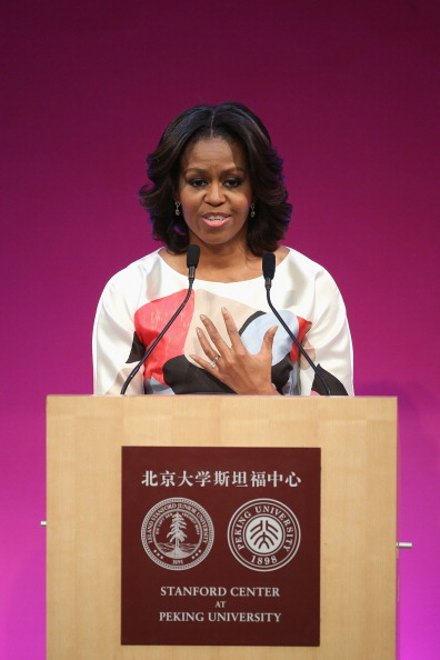 US First Lady「First Lady Michelle Obama Travels to China - Day 3」:写真・画像(15)[壁紙.com]