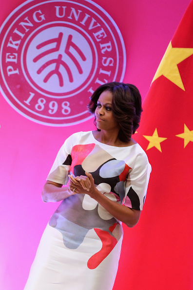 US First Lady「First Lady Michelle Obama Travels to China - Day 3」:写真・画像(13)[壁紙.com]