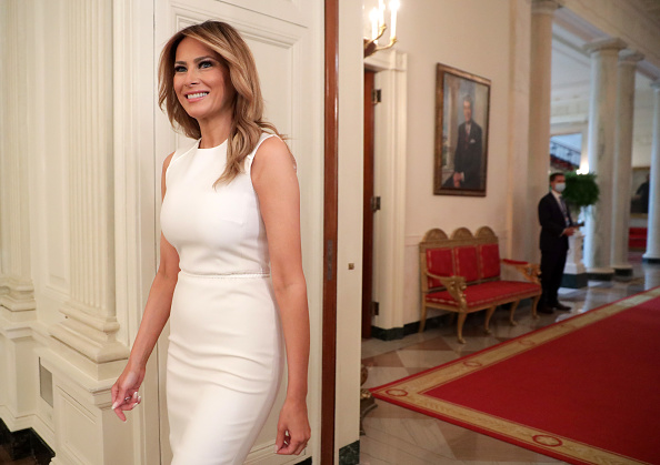 Melania Trump「First Lady Melania Trump Hosts Roundtable Discussion On Sickle Cell Anemia」:写真・画像(5)[壁紙.com]