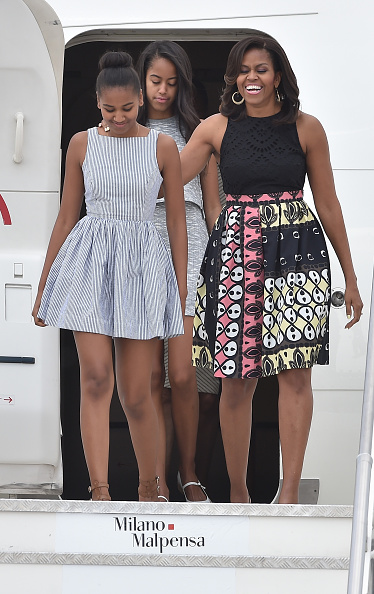 Daughter「First Lady Michelle Obama Arrives At Malpensa Airport」:写真・画像(10)[壁紙.com]