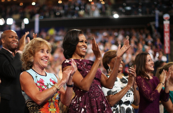 US First Lady「Obama Accepts Nomination On Final Day Of Democratic National Convention」:写真・画像(17)[壁紙.com]