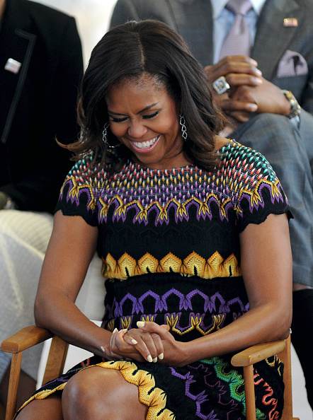 Laughing「First Lady Michelle Obama Leads The Presidential Delegation At The Milan Expo 2015」:写真・画像(12)[壁紙.com]