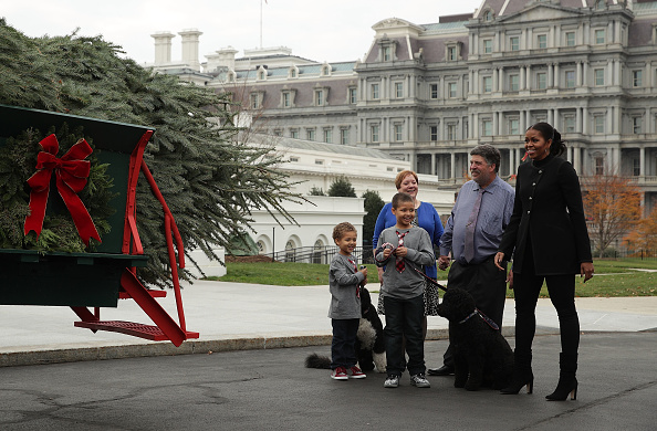 Sunny「Michelle Obama Welcomes Official Christmas Tree To White House」:写真・画像(17)[壁紙.com]
