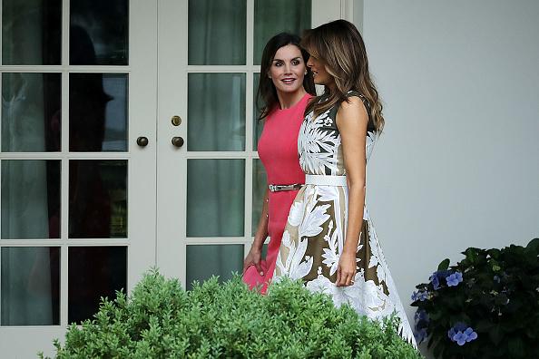 Letizia of Spain「President Trump Hosts Spain's King Felipe And Queen Letizia At The White House」:写真・画像(19)[壁紙.com]