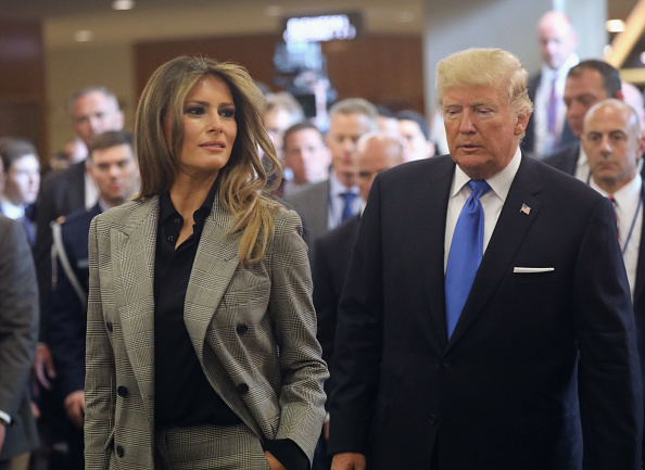 Women「President Trump Arrives At The United Nations To Address The General Assembly」:写真・画像(4)[壁紙.com]