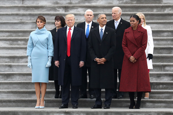 Standing「Donald Trump Is Sworn In As 45th President Of The United States」:写真・画像(9)[壁紙.com]
