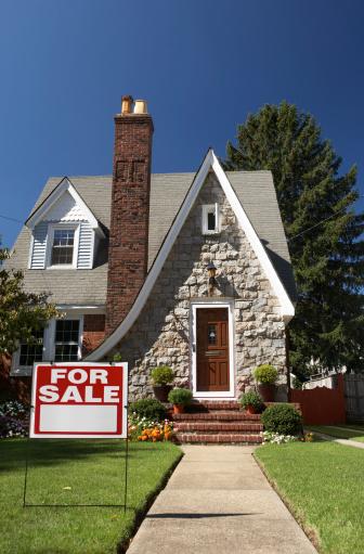 Real Estate Sign「House for sale」:スマホ壁紙(18)