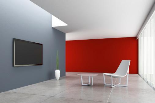 Clean「Minimalist TV Room」:スマホ壁紙(8)