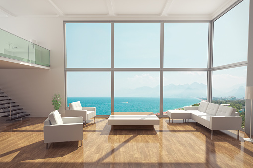 Clean「Minimalist Luxury Apartment Interior」:スマホ壁紙(10)