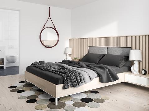 Pillow「Minimalist modern bedroom」:スマホ壁紙(4)