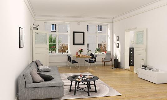 Living Room「Minimalist Designed Living Room Interior」:スマホ壁紙(6)