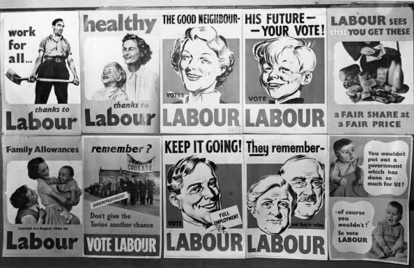 British Labour Party「Election Posters」:写真・画像(16)[壁紙.com]