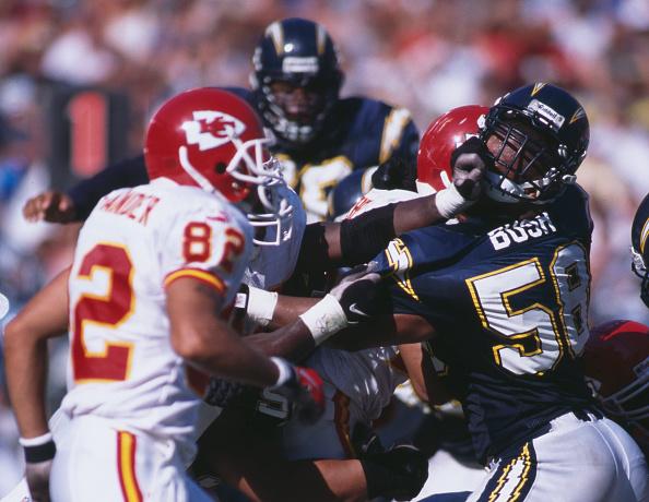 Donald Miralle「Kansas City Chiefs vs San Diego Chargers」:写真・画像(1)[壁紙.com]