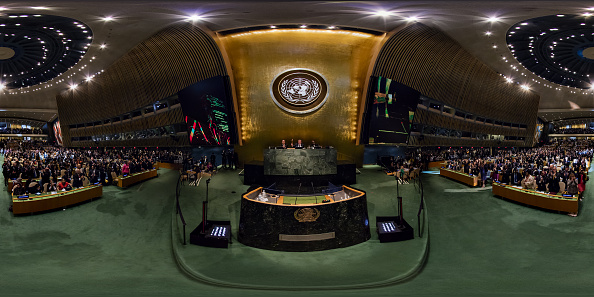 United Nations General Assembly「360 - Opening of the 70th General Assembly at the United Nations」:写真・画像(6)[壁紙.com]