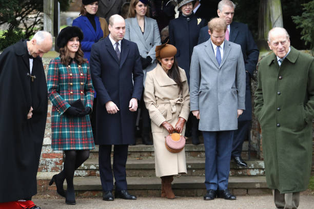 Christmas「Members Of The Royal Family Attend St Mary Magdalene Church In Sandringham」:写真・画像(12)[壁紙.com]