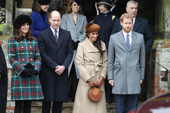 Christmas「Members Of The Royal Family Attend St Mary Magdalene Church In Sandringham」:写真・画像(11)[壁紙.com]