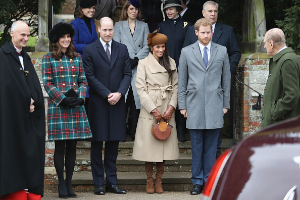 Coat - Garment「Members Of The Royal Family Attend St Mary Magdalene Church In Sandringham」:写真・画像(12)[壁紙.com]