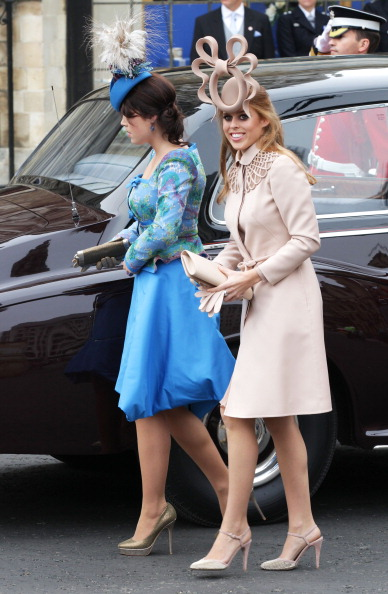 Princess Beatrice of York「Royal Wedding - Wedding Guests And Party Make Their Way To Westminster Abbey」:写真・画像(18)[壁紙.com]