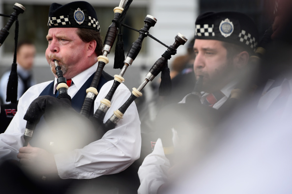 Horizontal「Over 300 Performers Participate In The World Pipe Band Championships」:写真・画像(12)[壁紙.com]