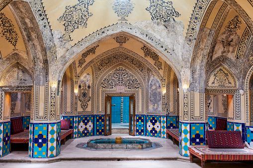 Iran「Iran, Kashan, hammam sultan Mir Ahmad」:スマホ壁紙(15)