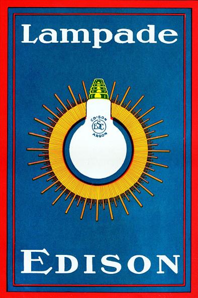 Light Bulb「T A Edison advert for light bulb」:写真・画像(9)[壁紙.com]