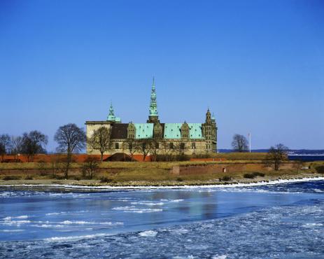 Helsingor「Kronborg castle in winter, Denmark」:スマホ壁紙(12)