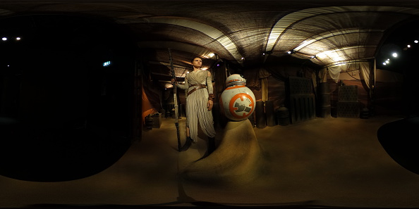 """Star Wars Episode VII - The Force Awakens「Daisy Ridley's Wax Figure Character Rey From """"Star Wars: The Force Awakens""""」:写真・画像(2)[壁紙.com]"""