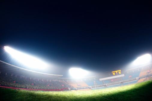Scoreboard「Digital composit of soccer field and night sky」:スマホ壁紙(14)