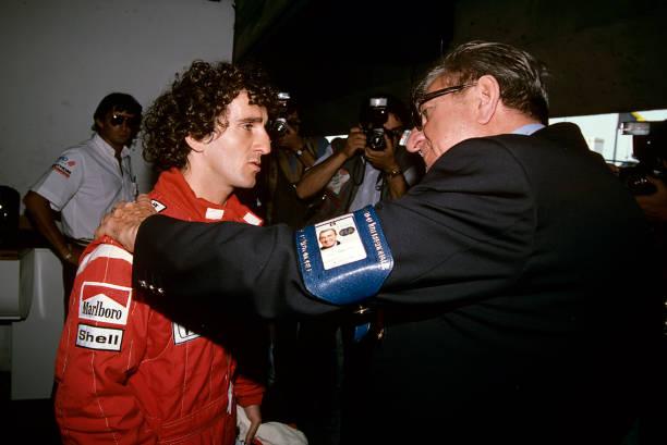McLaren-Honda Racing Team「Prost & Balestre At Grand Prix Of France」:写真・画像(1)[壁紙.com]