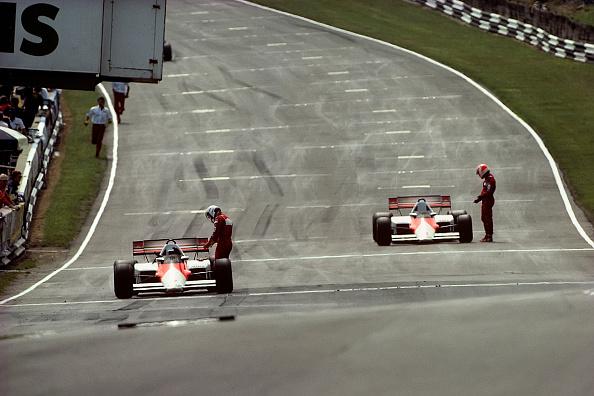 Alain Prost「Alain Prost, Niki Lauda, Grand Prix Of Great Britain」:写真・画像(9)[壁紙.com]