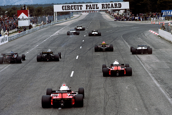 F1レース「Alain Prost, Ricardo Patrese, Eddie Cheever, René Arnoux, Nelson Piquet, Elio de Angelis, Derek Warwick, Mauro Baldi, Andrea de Cesaris, Grand Prix Of France」:写真・画像(14)[壁紙.com]