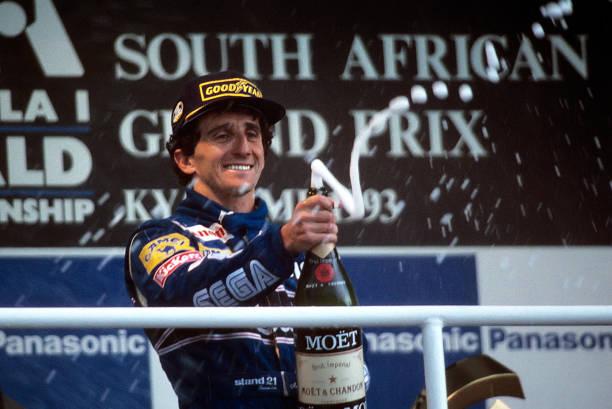 Alain Prost「Alain Prost At Grand Prix Of South Africa」:写真・画像(2)[壁紙.com]