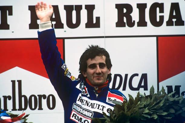 Alain Prost「Alain Prost At Grand Prix Of France」:写真・画像(3)[壁紙.com]