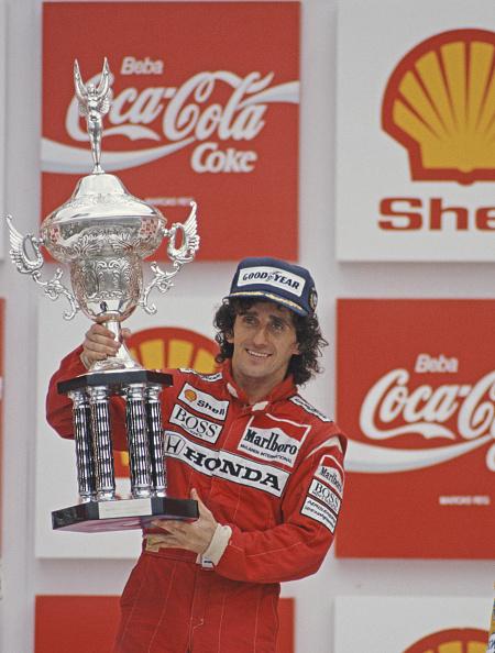 Alain Prost「Grand Prix of Brazil」:写真・画像(1)[壁紙.com]