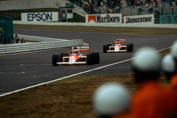 Japanese Formula One Grand Prix「Alain Prost, Ayrton Senna, Grand Prix Of Japan」:写真・画像(3)[壁紙.com]