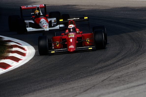 1990-1999「Alain Prost, Ayrton Senna, Grand Prix Of Italy」:写真・画像(19)[壁紙.com]