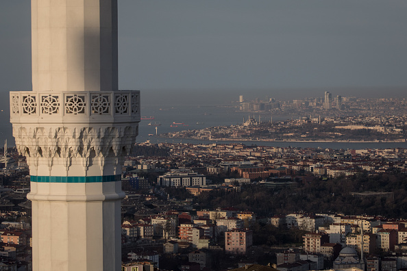 世界遺産「Turkey's Largest Mosque Opens For First Official Prayer」:写真・画像(0)[壁紙.com]