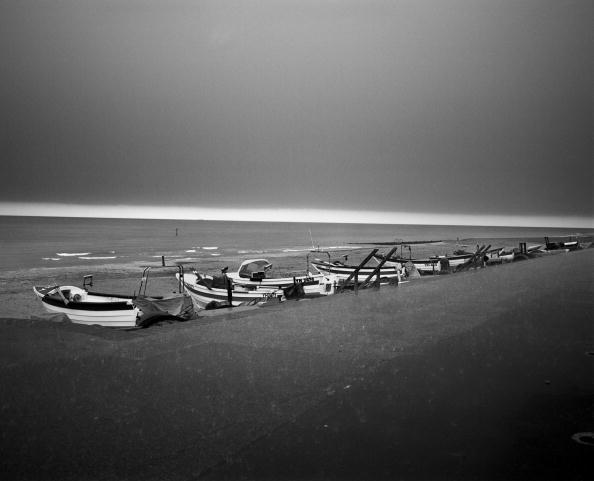 Overcast「Boats At Cromer」:写真・画像(1)[壁紙.com]
