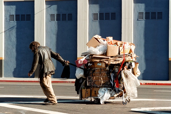 City Of Los Angeles「Homeless Live on The Streets Of Hollywood」:写真・画像(13)[壁紙.com]