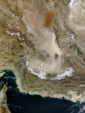 Iran「Dust storm in Iran.」:スマホ壁紙(14)