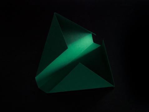 Origami「folded paper」:スマホ壁紙(19)