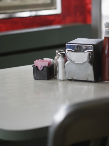 Napkin「Diner table」:スマホ壁紙(2)
