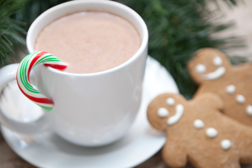 Gingerbread Man「Hot Chocolate For Christmas with Cookies」:スマホ壁紙(16)