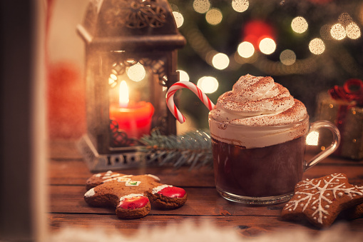 Gingerbread Cookie「Hot Chocolate for Christmas」:スマホ壁紙(13)